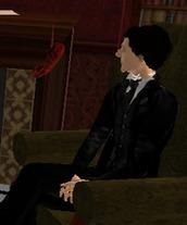 Holmes watches Miss Heinrichs